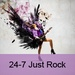 24/7 Niche Radio - 24-7 Just Rock Logo