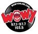 97.1 97.7 103.5 WOWY - WHUN Logo