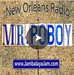 Mr PoBoy's Jambalaya Jam New Orleans Radio Logo