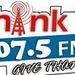 Thank U 107.5 MHz Logo