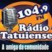 Radio Tatuiense 104,9 FM Logo