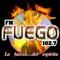Radio Fuego 102.7 Logo