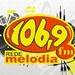 Rádio Melodia FM Cataguases Logo