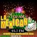 La Mexicana 102.1 FM - XEURM Logo