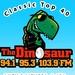 The Dinosaur - WSEN-FM Logo