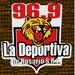 96.9 La Deportiva Logo