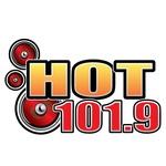 Hot 101.9 - KRSQ Logo
