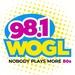 98.1 WOGL - WOGL Logo