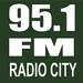 95.1 FM Radio City Logo