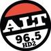 ALT 96.5 - KJAQ-HD2 Logo