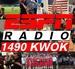 ESPN Radio 1490 KWOK - KWOK Logo