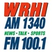 WRHI FM 100.1 - WRHI Logo