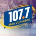 107.7 FM Más Variedad - KLJA Logo