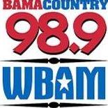 Bama Country 98.9 - WBAM-FM
