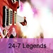 24/7 Niche Radio - 24-7 Legends Logo