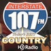 Interstate 107 FM - WRHM Logo