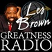 Les Brown Greatness Radio Logo