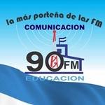 La Noventa de Devoto FM Logo