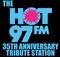 HOT 97 35th Anniversary Tribute Station Logo