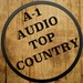 A-1 Audio Top Country Logo