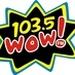 103.5 WOW FM Logo