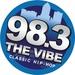 98.3 The Vibe - KWQW Logo