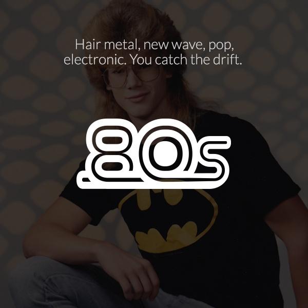 Dash Radio - 80's