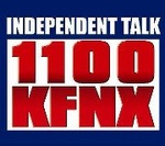 Independent Talk 1100 - KFNX Logo