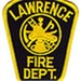 Lawrence Fire and Police Logo