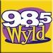 98.5 WYLD - WYLD-FM Logo