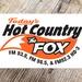 96.5 and 93.9 The Fox - KFXE Logo