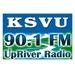 KSVU 90.1 FM Upriver Radio Logo