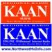95.5 Regional Radio KAAN - KAAN-FM Logo