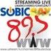 89.5-FM Subic Bay Radio Logo