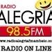 Alegria FM 98.5 Logo