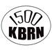 1500 KBRN - KBRN Logo