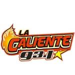 La Caliente 93.1 - XHAAA Logo