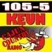 105-5 KEUN - KEUN-FM Logo