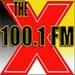 100.1 The X - KTHX-FM Logo