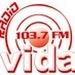Radio Vida FM Curico 103.7 Logo
