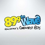 89.9 The Wave - CHNS-FM Logo