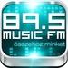 89.5 Music FM Logo