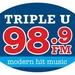 Triple U 98.9 - WOMN Logo