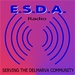 E.S.D.A. Radio Logo