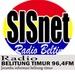 SISnet Radio 96.4 FM Logo