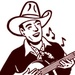 KWPX Cowpoke Country Radio Logo