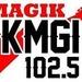 Magik 102.5 - KMGI Logo