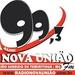 Rádio Nova União FM 99.3 Logo