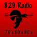 829 Radio - 70's, 80's, 90's Logo