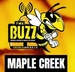 The Buzz Maple Creek Logo